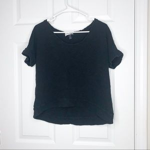 Universal Thread black basic tee size small